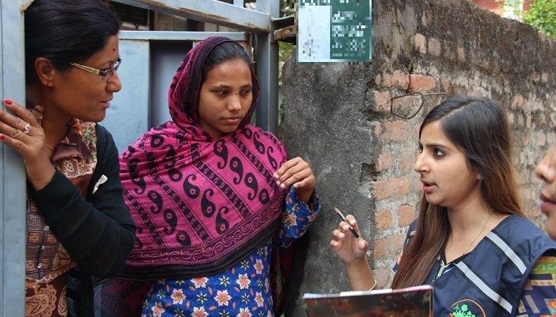 door to door survey india