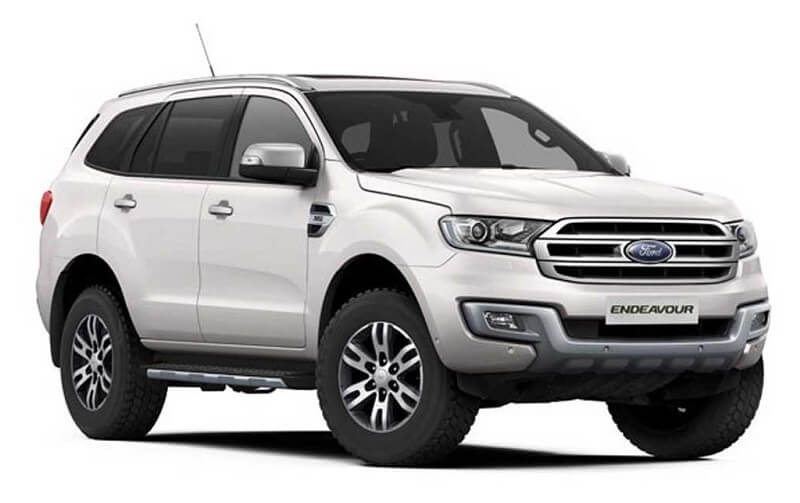 Ford Endeavour Car White