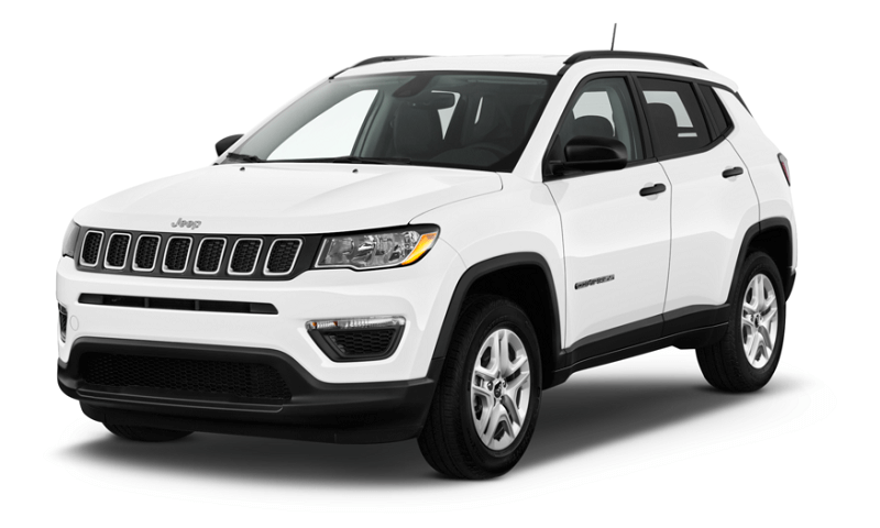 Jeep Compass SUV white