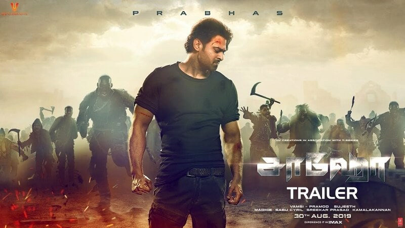 actor prabhas in saaho trailer